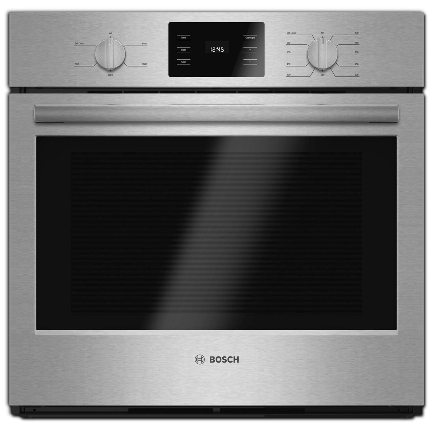 Cooking Products - Bosch Stainless Steel Wall Oven (4.6 Cu. Ft.) - HBL5351UC