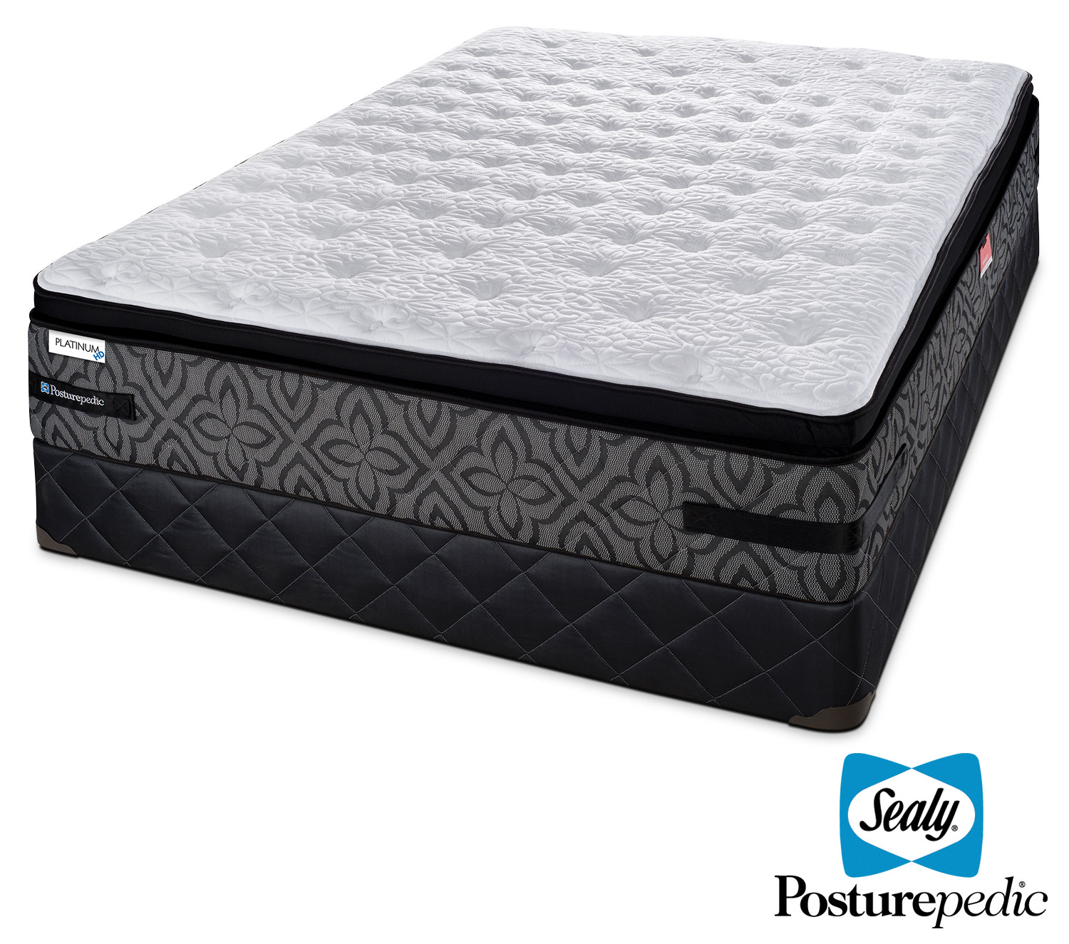 Mattresses and Bedding - Sealy Posturepedic 2 K Firm Full Mattress and Boxspring Set