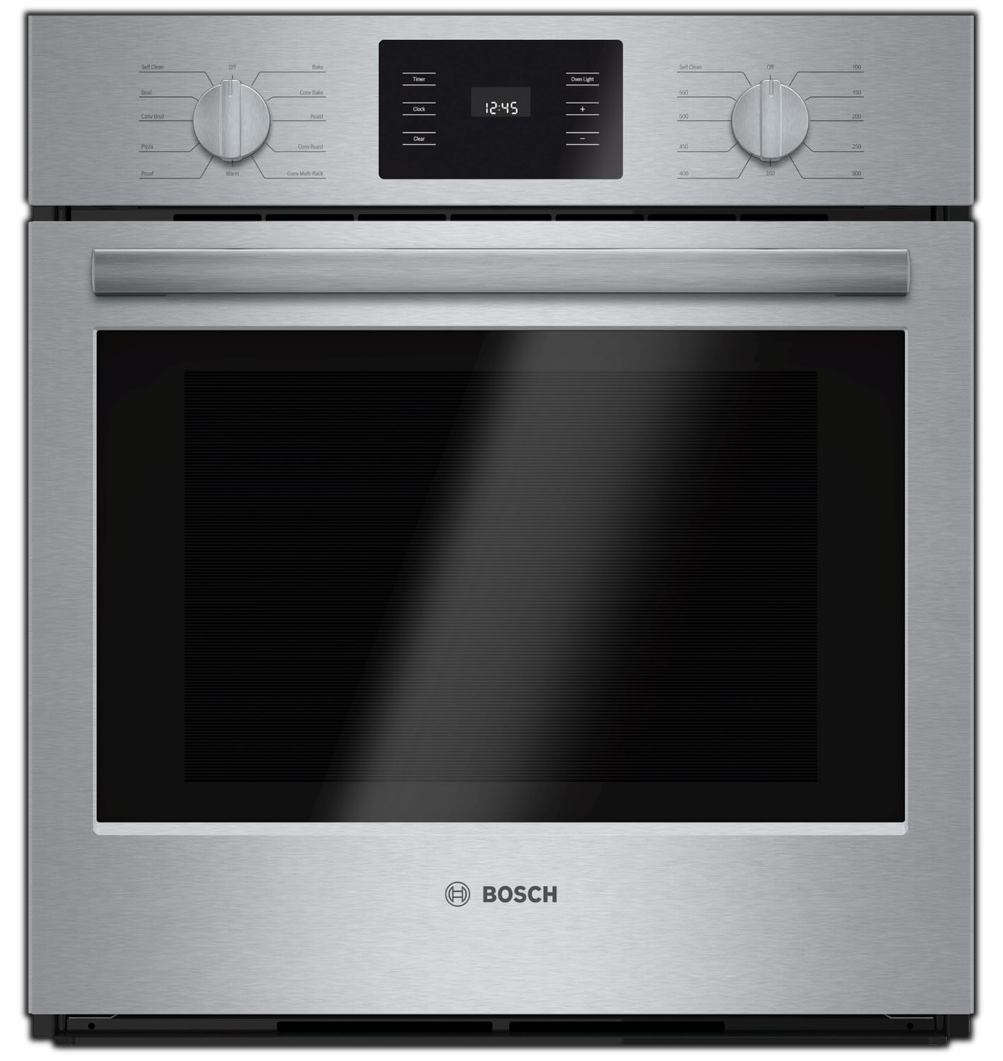 Cooking Products - Bosch Stainless Steel Wall Oven (3.9 Cu. Ft.) - HBN5451UC