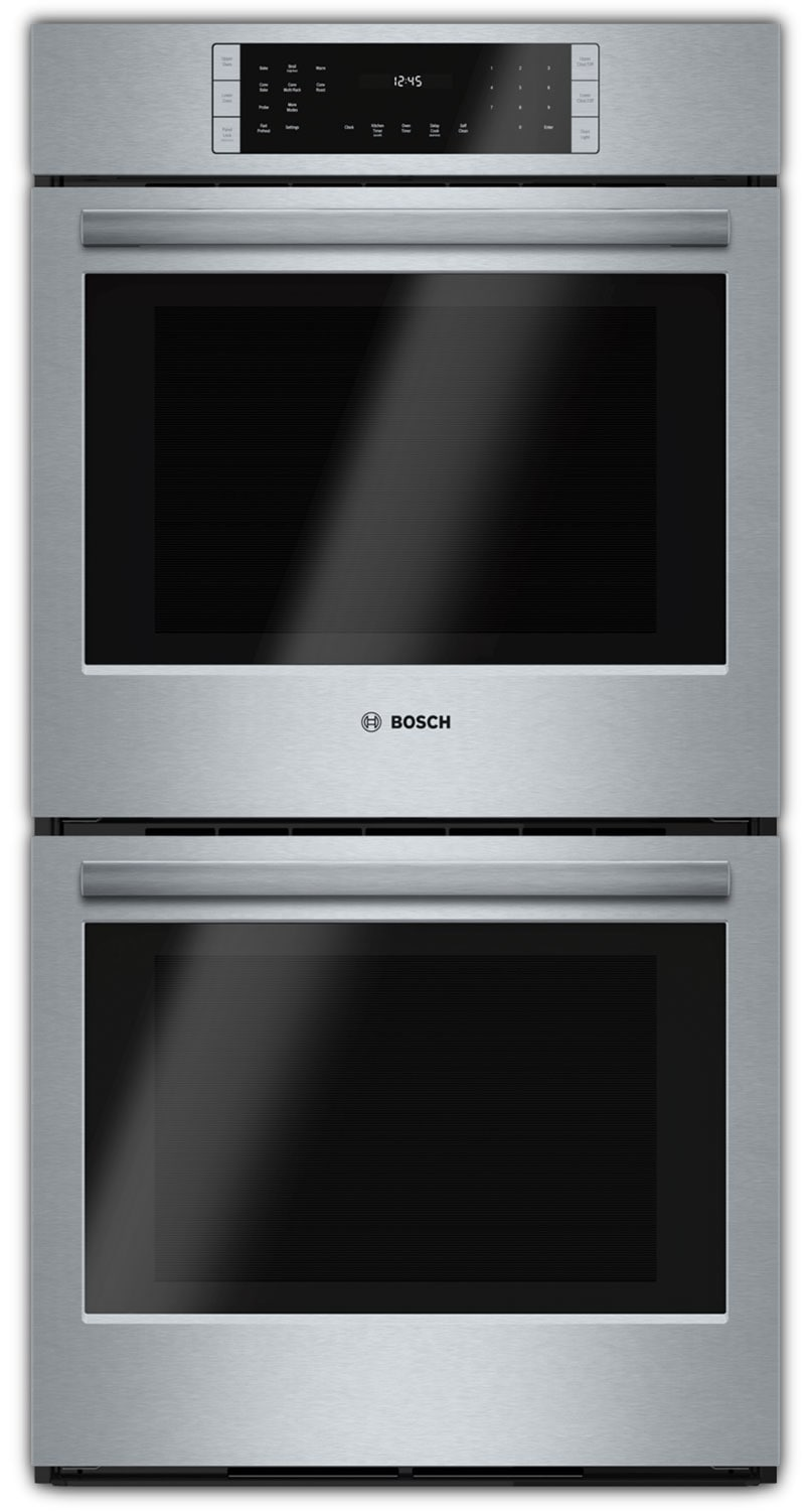 Cooking Products - Bosch Stainless Steel Double Wall Oven (7.8 Cu. Ft.) - HBN8651UC