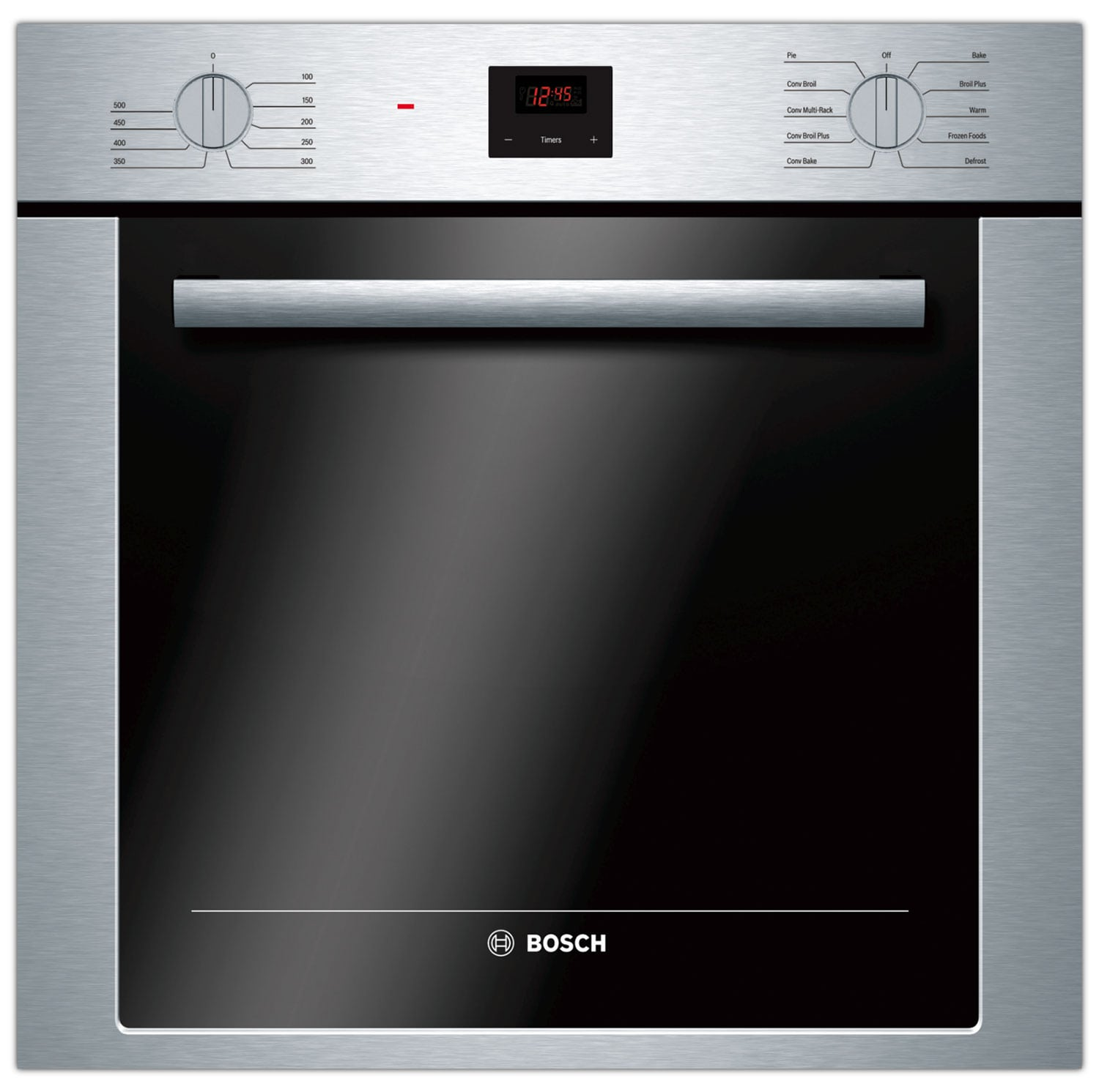 Cooking Products - Bosch Stainless Steel Wall Oven (2.8 Cu. Ft.) - HBE5451UC