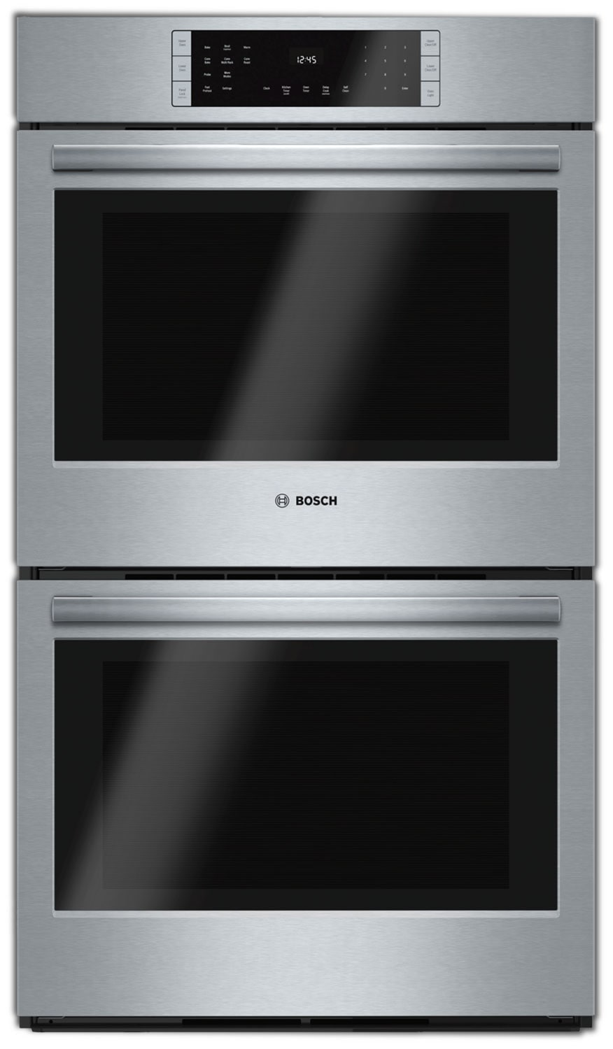 Cooking Products - Bosch Stainless Steel Double Wall Oven (9.2 Cu. Ft.) - HBL8651UC