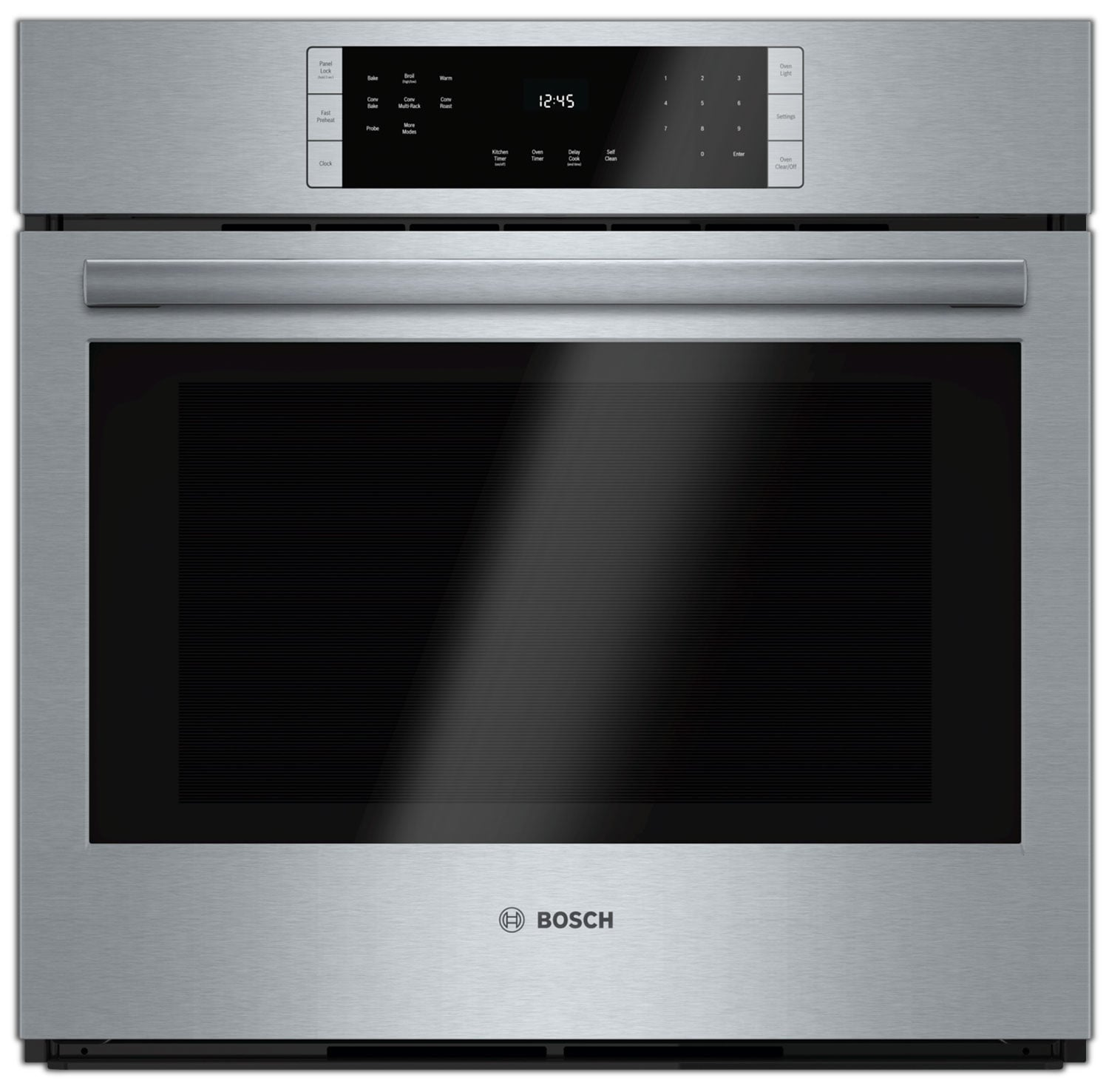 Cooking Products - Bosch Stainless Steel Wall Oven (4.6 Cu. Ft.) - HBL8451UC