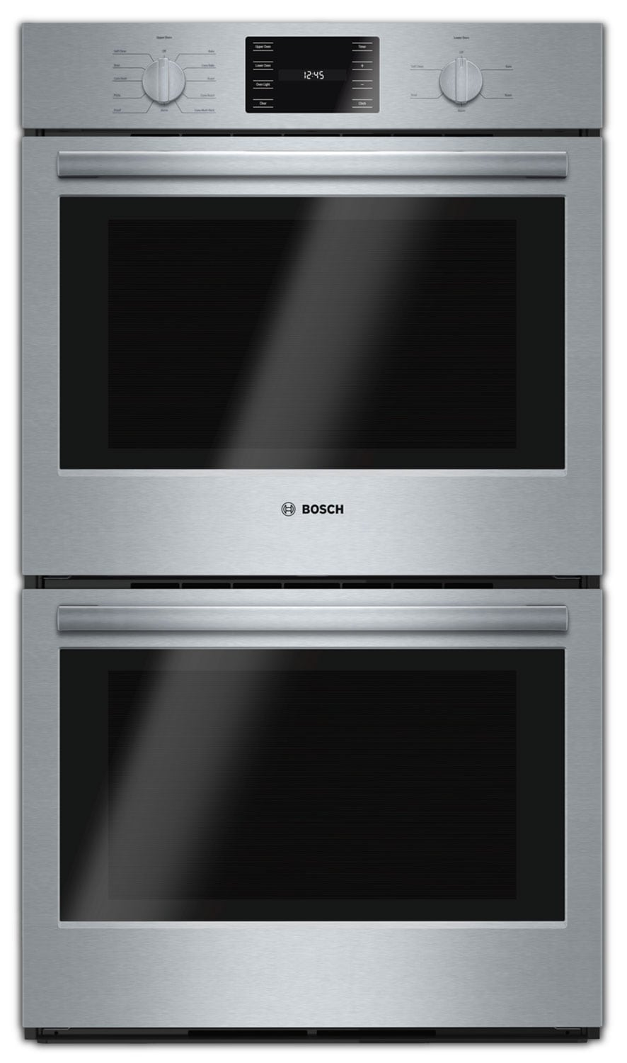 Cooking Products - Bosch Stainless Steel Double Wall Oven (9.2 Cu. Ft.) - HBL5651UC