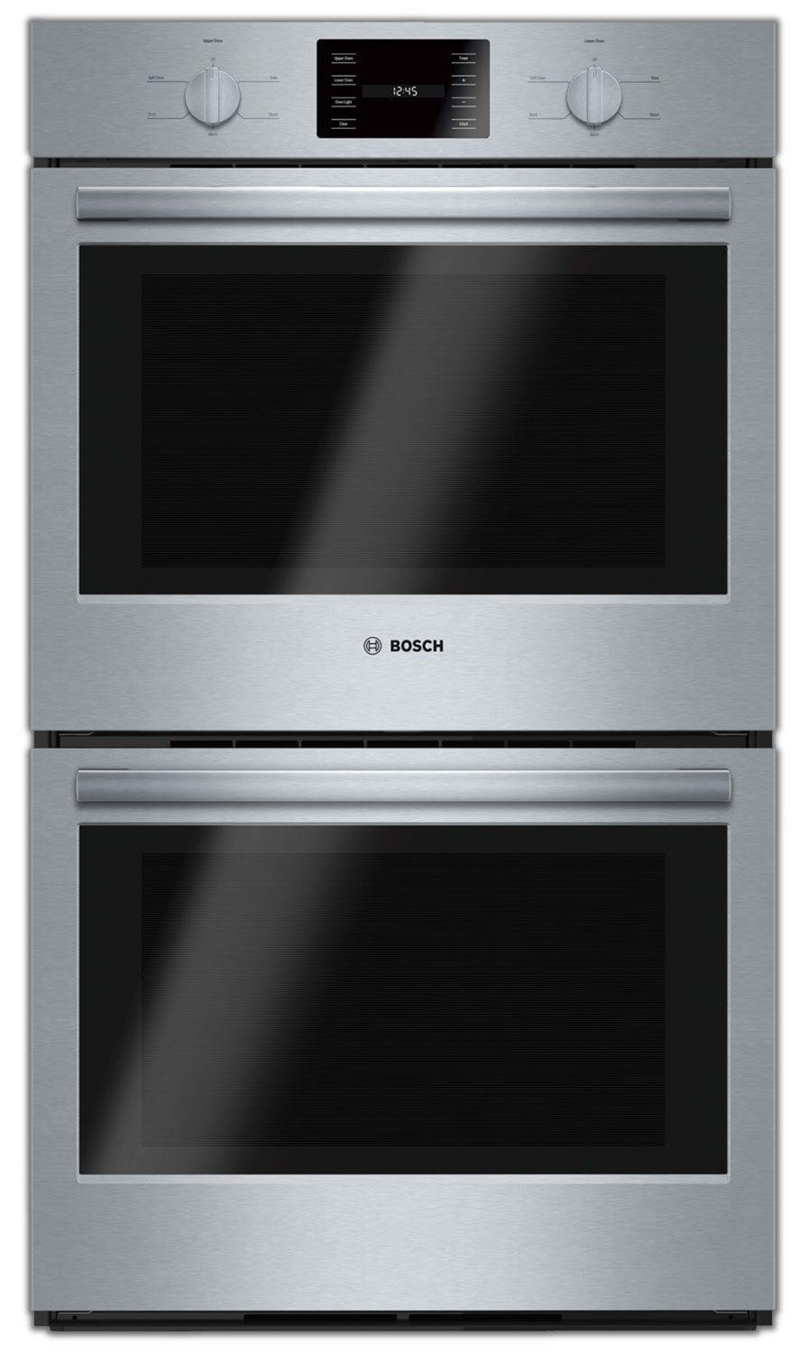 Cooking Products - Bosch Stainless Steel Double Wall Oven (9.2 Cu. Ft.) - HBL5551UC