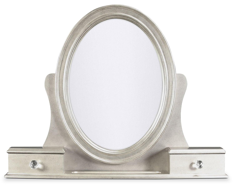 Allure Vanity Mirror - Platinum