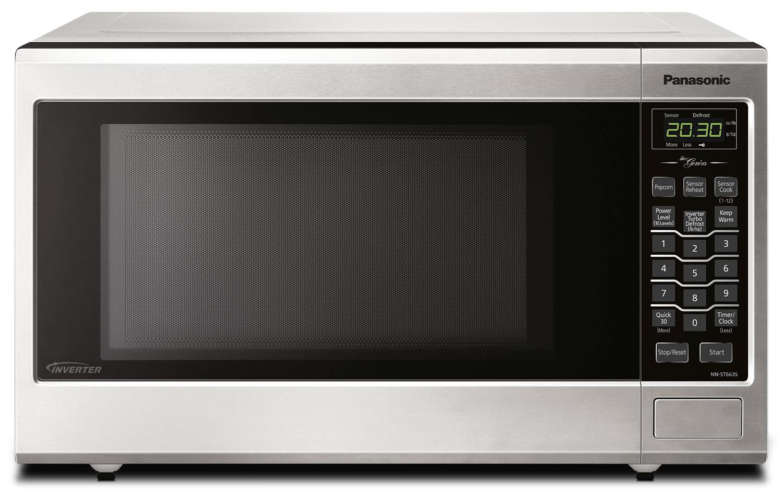 Panasonic 1.2 Cu. Ft. Countertop Microwave – NNST663SC