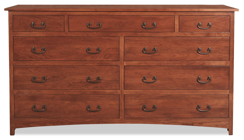 Amish Treasure Dresser - Warm Cherry