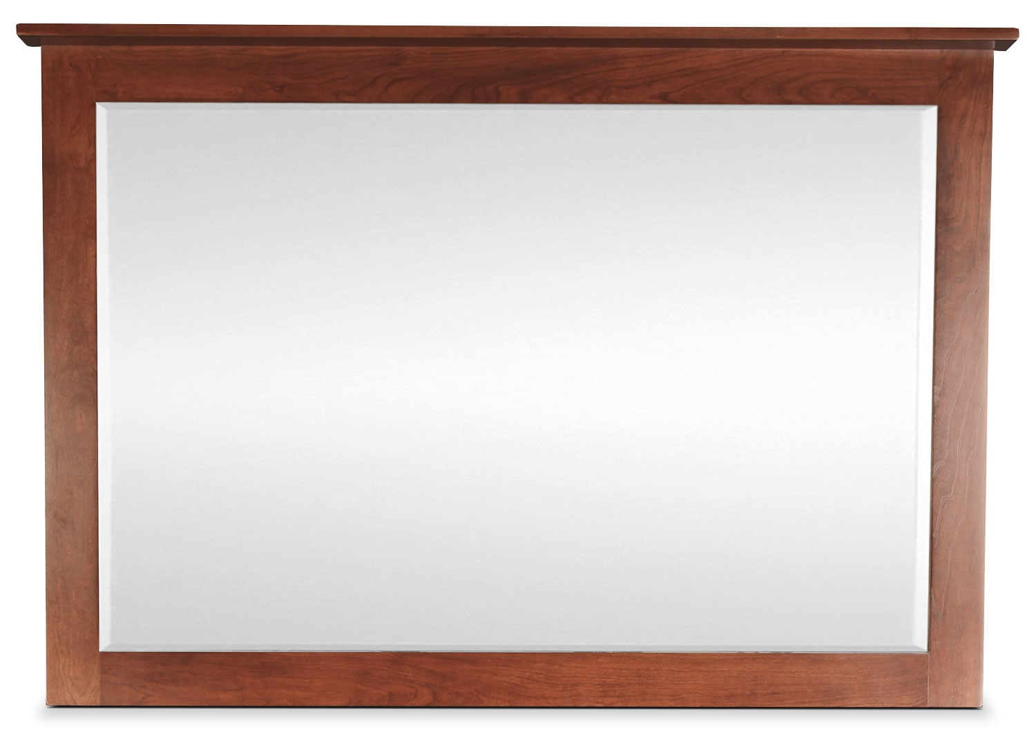 Amish Treasure Mirror - Warm Cherry