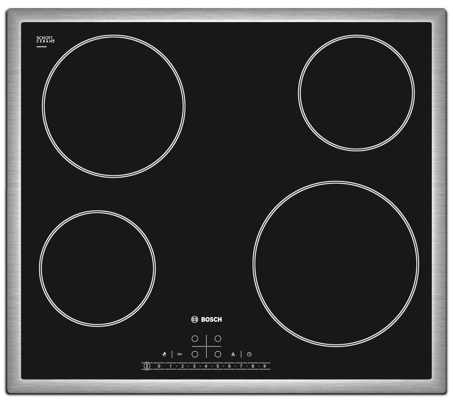 Cooking Products - Bosch Black Electric Cooktop - NET5466SC