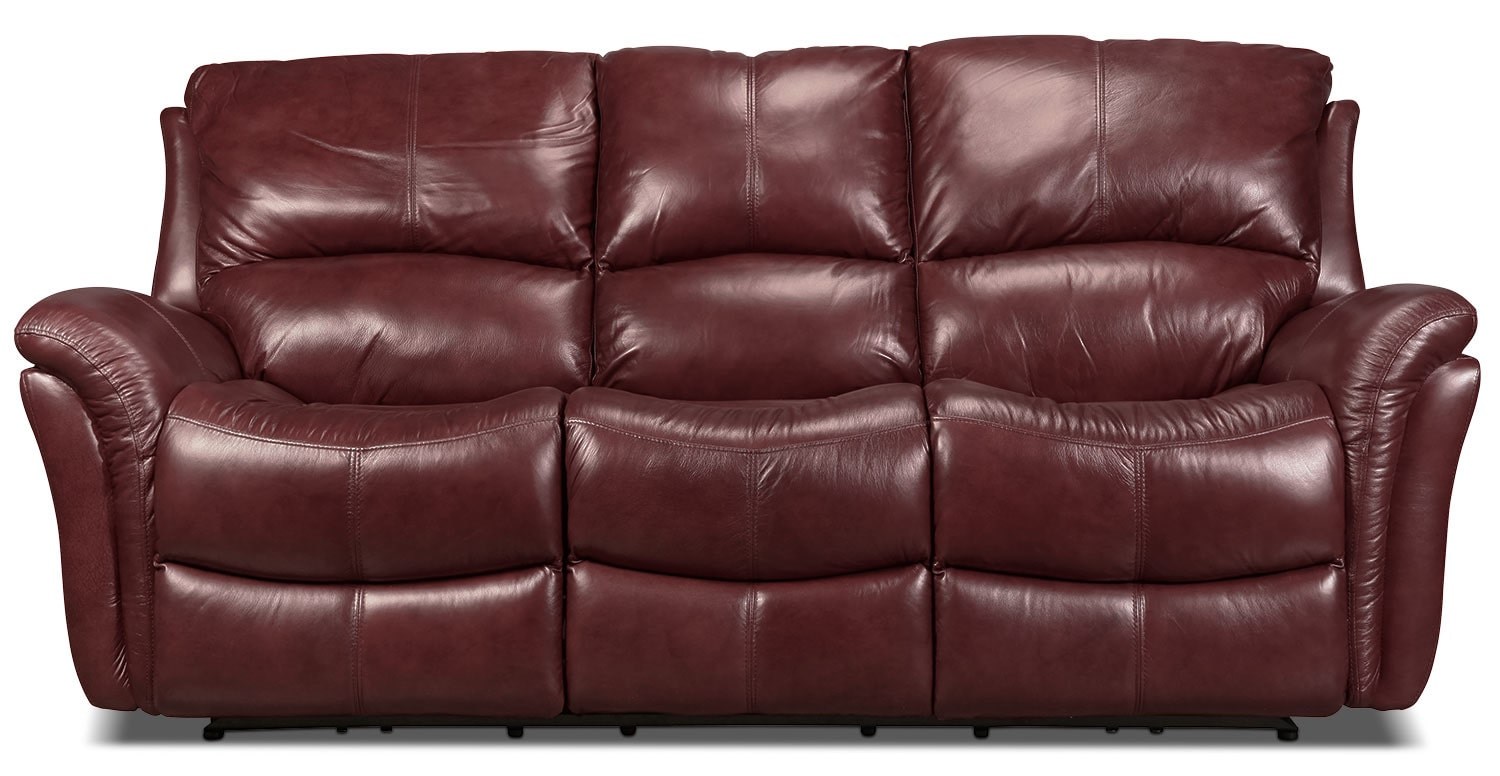 Griffin Power Reclining Sofa - Red