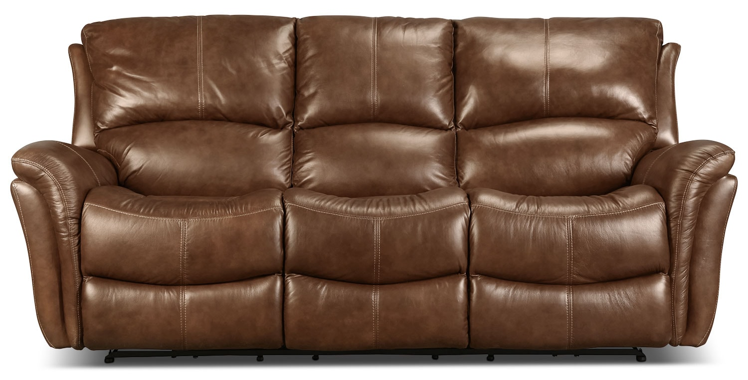 Griffin Power Reclining Sofa - Brown