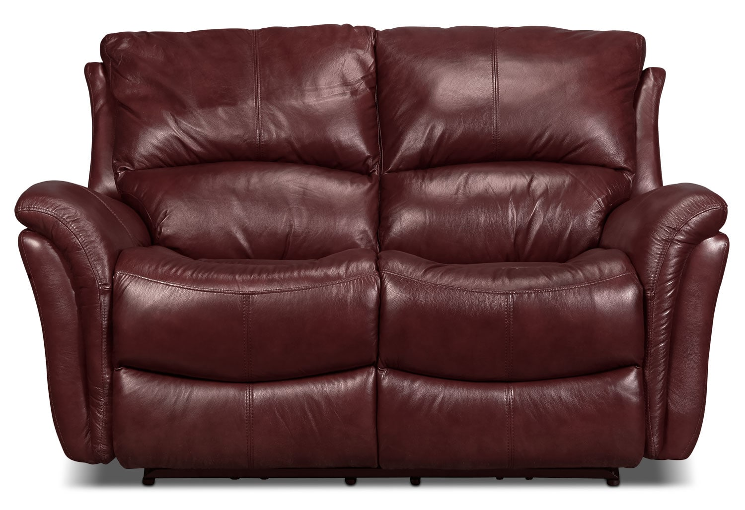 Griffin Power Reclining Loveseat Red Levin Furniture