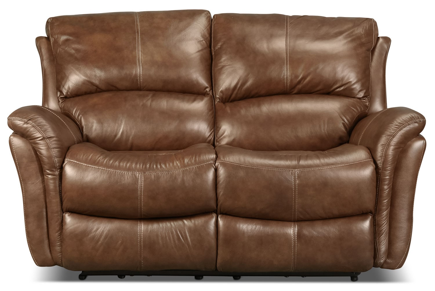 Griffin Power Reclining Loveseat - Brown