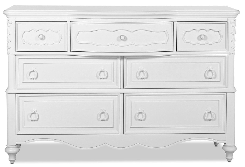 Ava Dresser - White