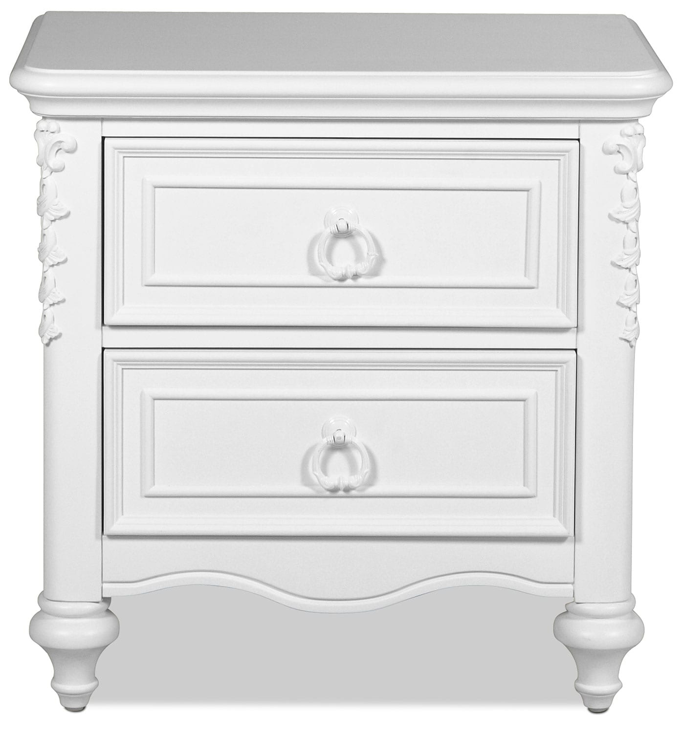 Kids Furniture - Ava Nightstand - White