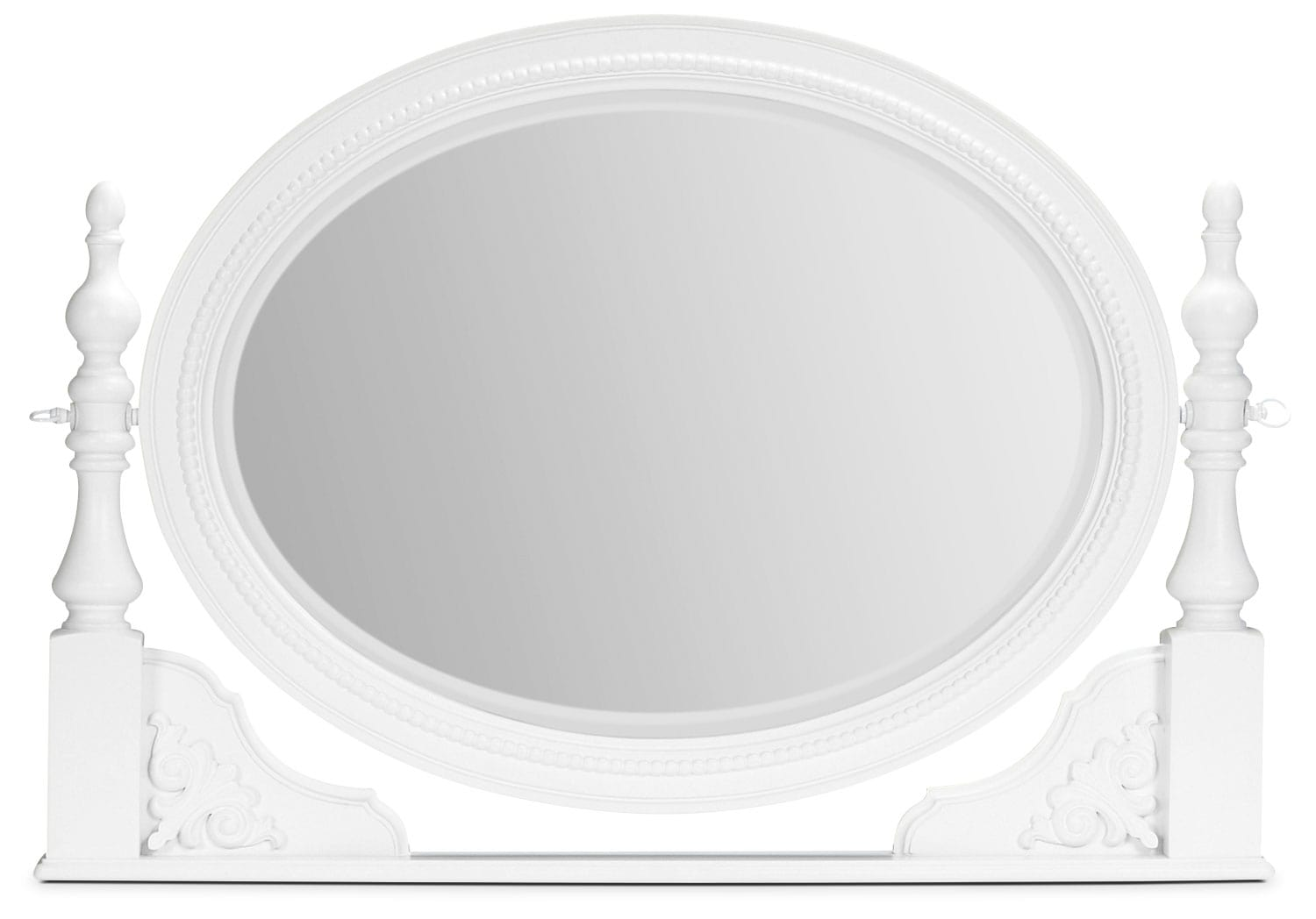 Kids Furniture - Ava Vanity Mirror - White