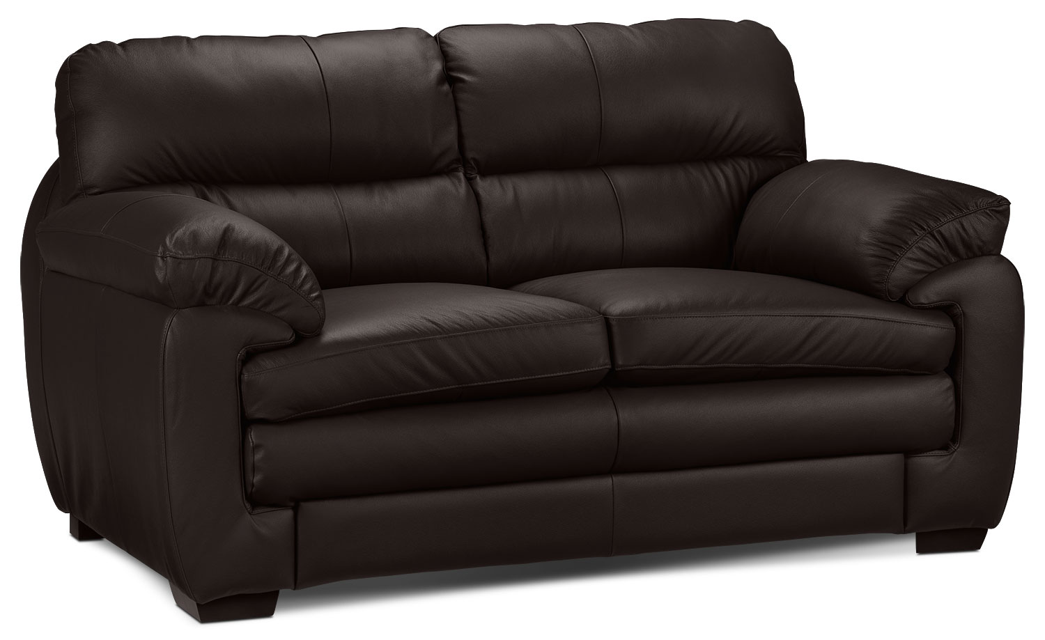 Living Room Furniture - Cambria Loveseat - Coffee