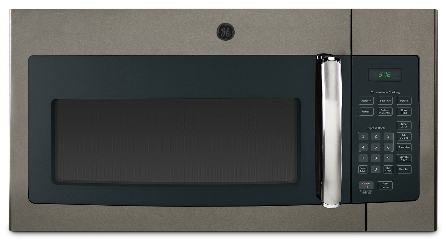 Cooking Products - GE 1.6 Cu. Ft. Over-the-Range Microwave – JVM1635SLJC