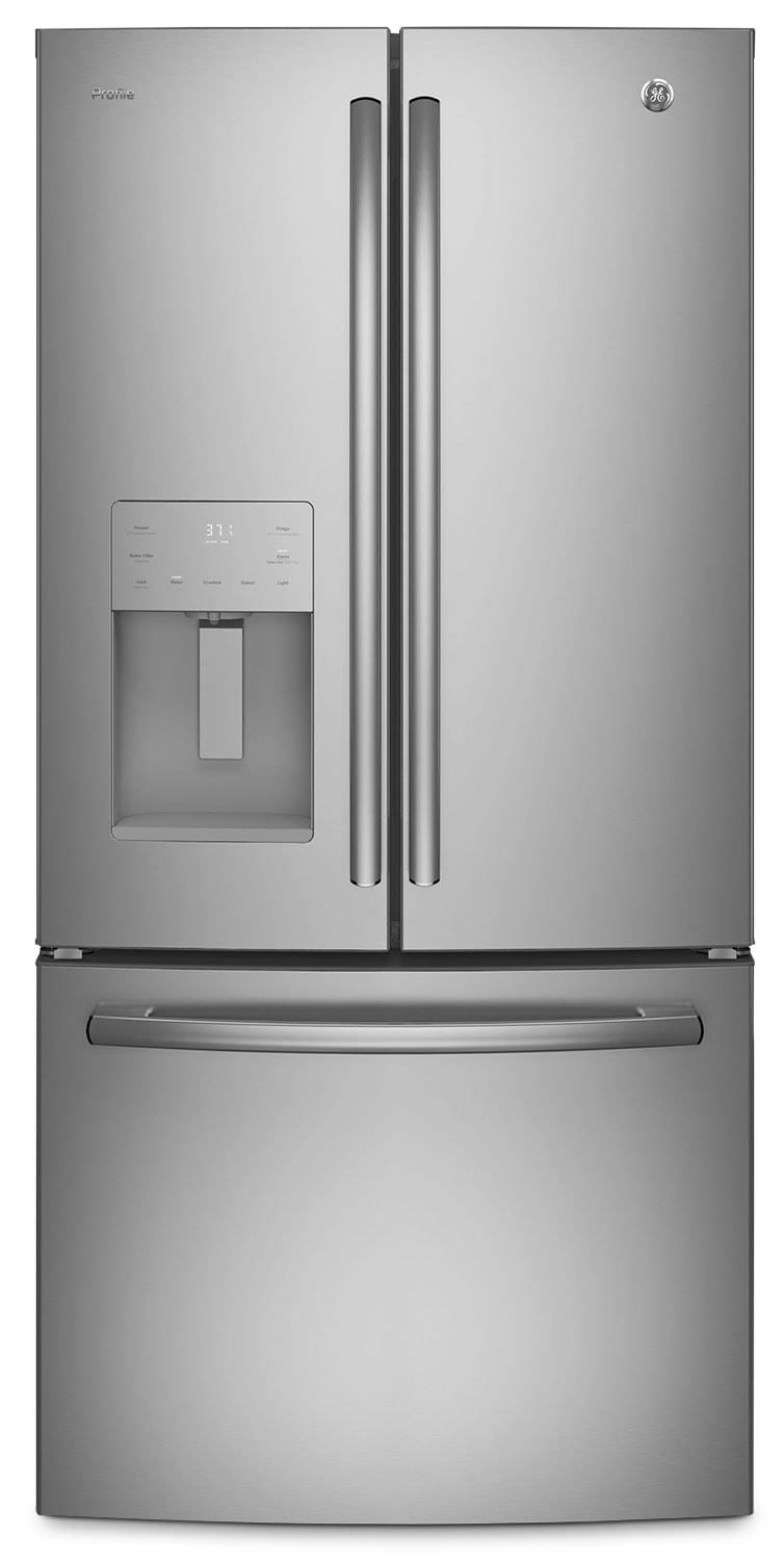 Refrigerators and Freezers - GE 23.8 Cu. Ft. French-Door Refrigerator – PFE24JSKSS