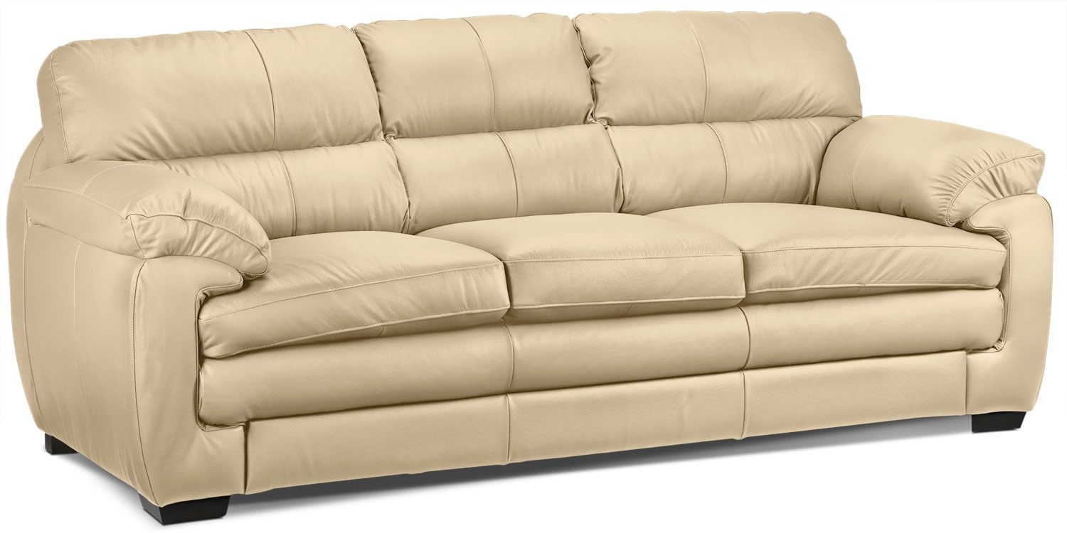 Living Room Furniture - Cambria Sofa - Seashell