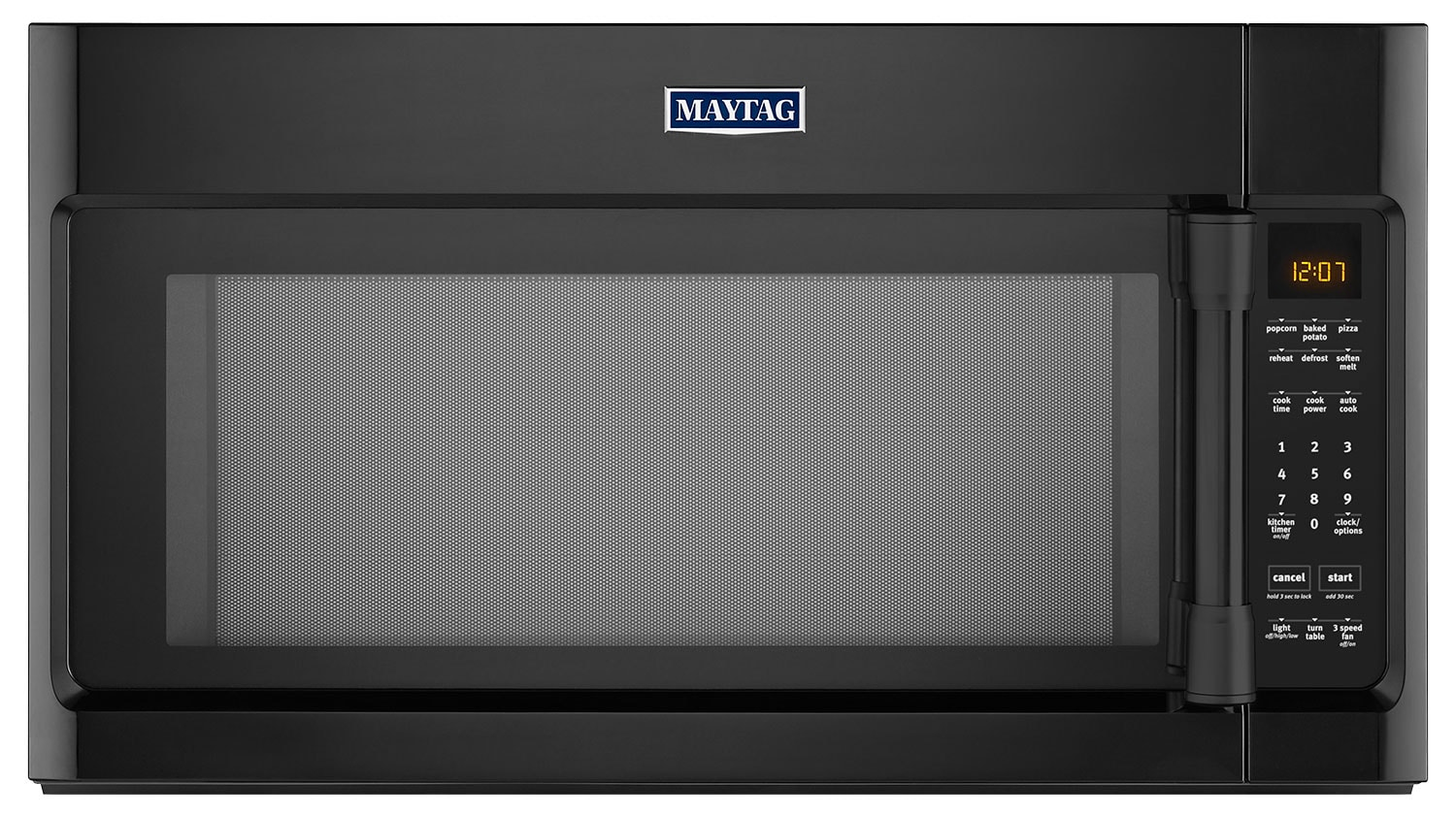 Cooking Products - Maytag® 2.0 Cu. Ft. Over-the-Range Microwave – Black