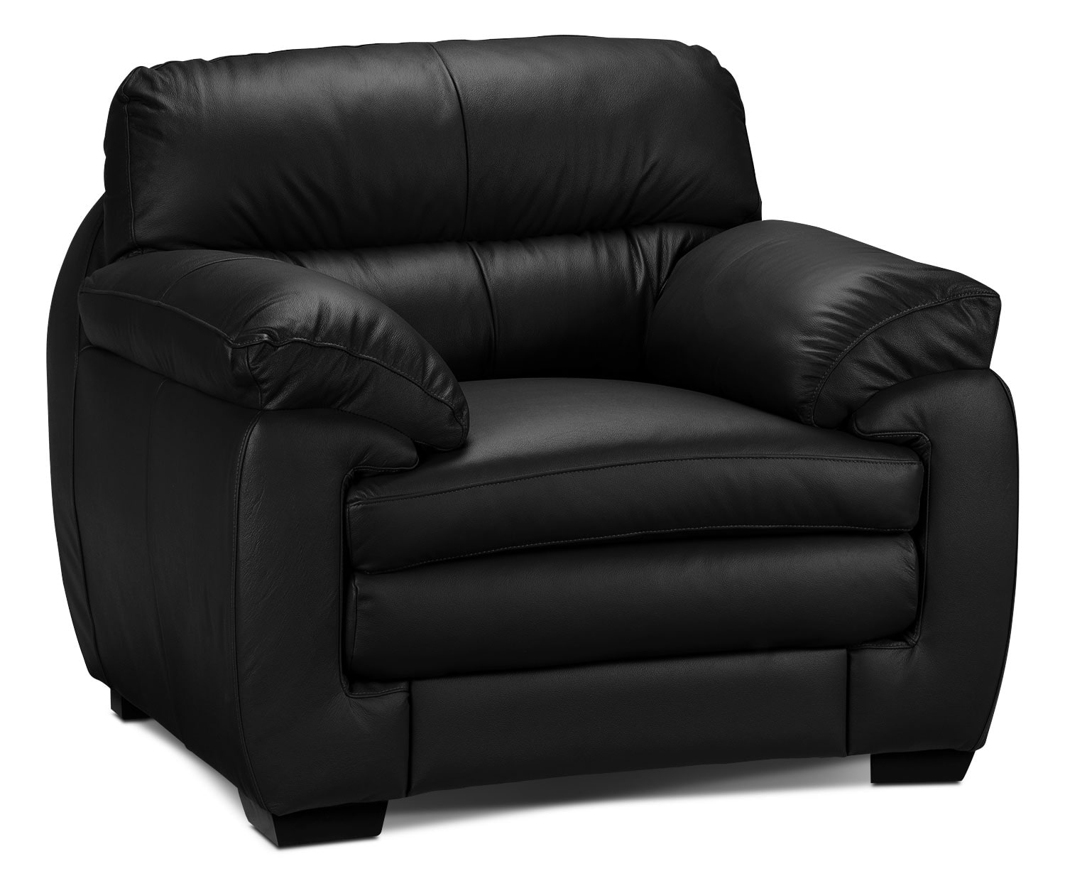 Living Room Furniture - Cambria Chair - Black