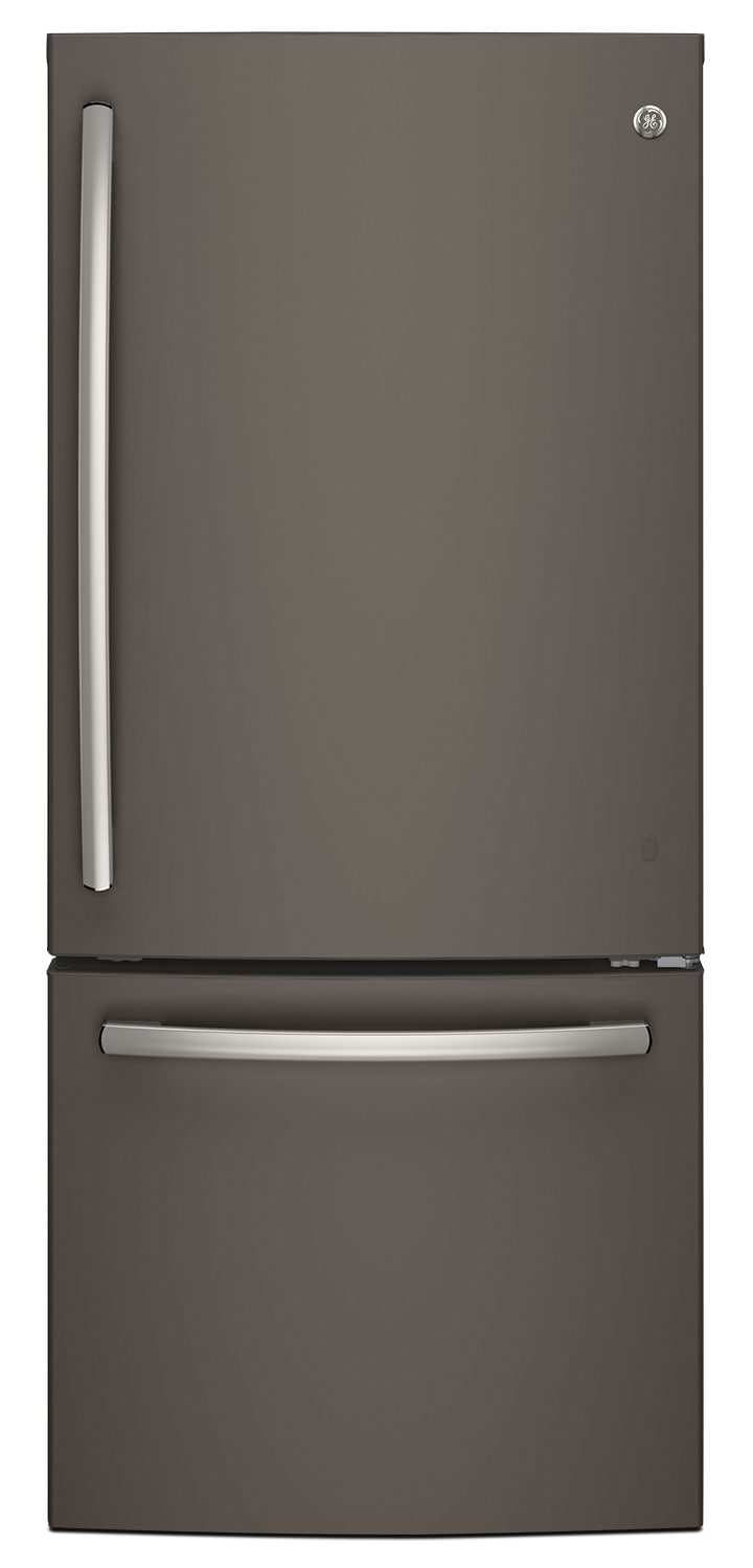 GE 20.9 Cu. Ft. Bottom-Mount Refrigerator – GDE21DMKES
