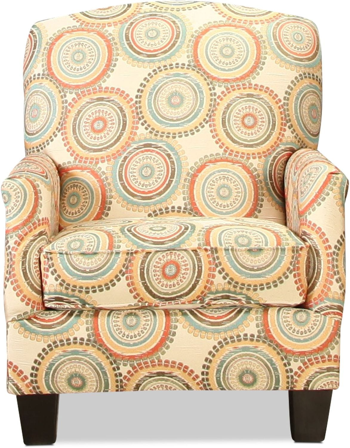 Living Room Furniture - Sanibel Accent Chair - Medallions