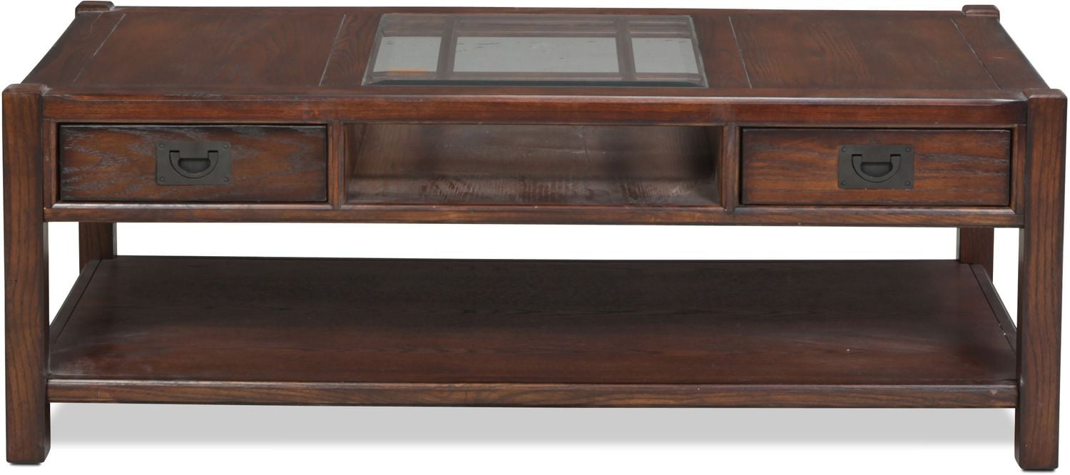 Sumpter Coffee Table - Distressed Chestnut