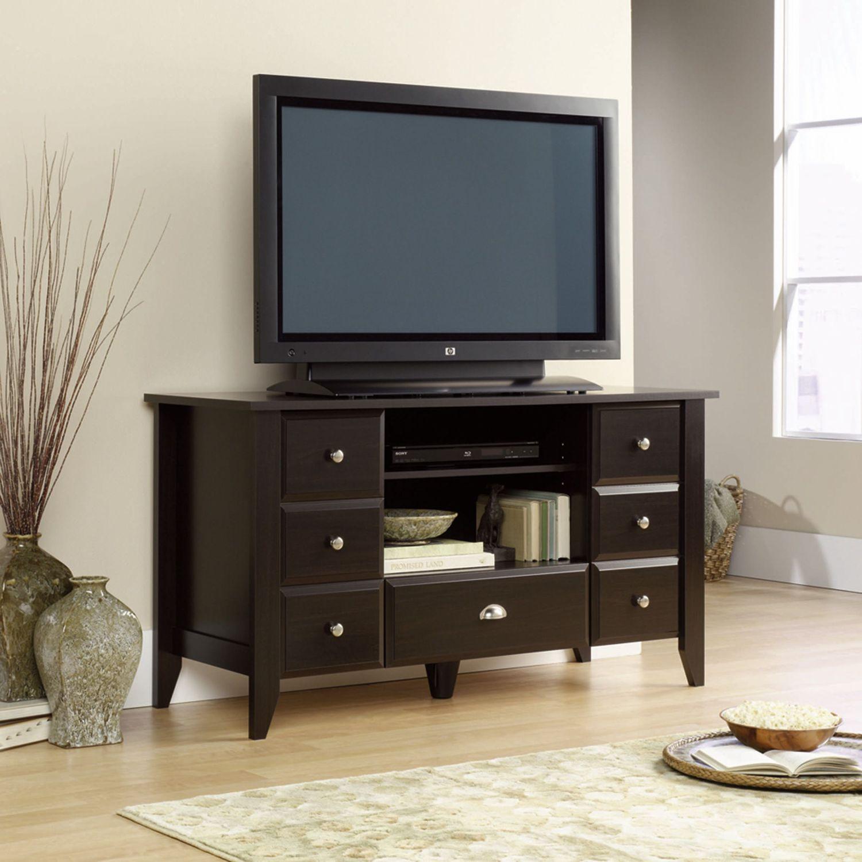 "Entertainment Furniture - Shoal Creek 53"" TV Stand - Espresso"
