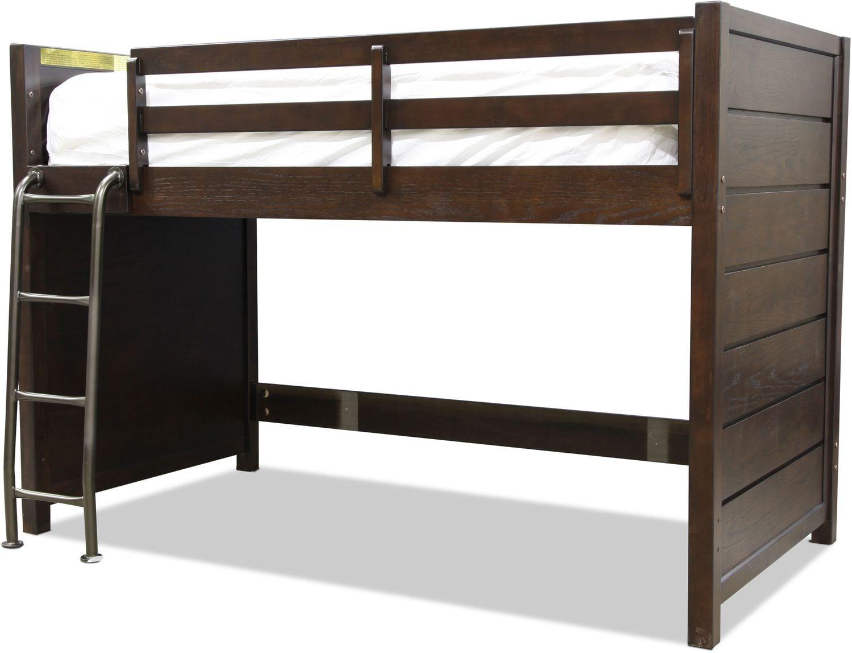 Traver Loft Bed - Cocoa