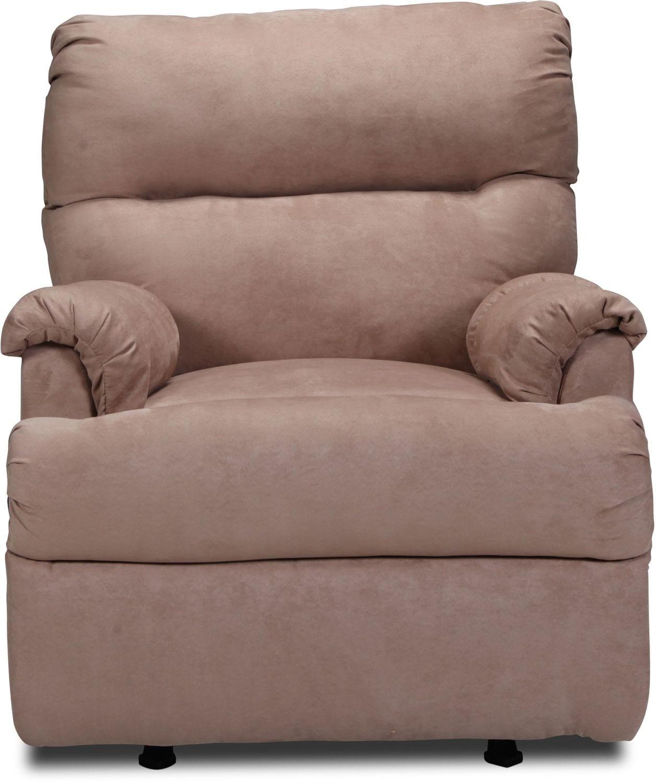 Living Room Furniture - Pickford Rocker Recliner - Camel
