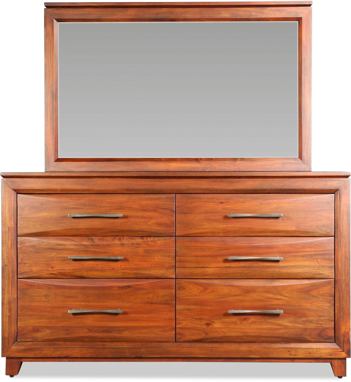Stellan Dresser - Brown Mahogany