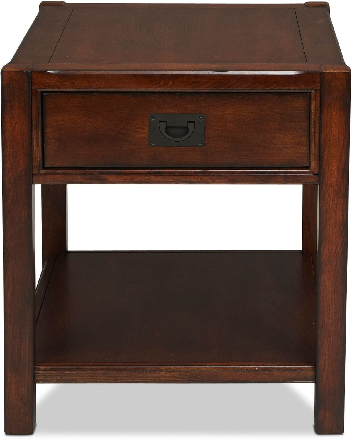 Sumpter End Table - Distressed Chestnut