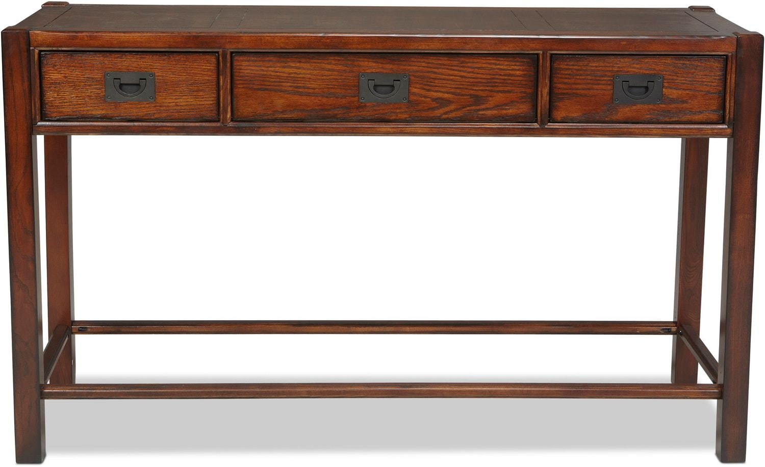 Accent and Occasional Furniture - Sumpter Sofa Table - Distressed Chestnut