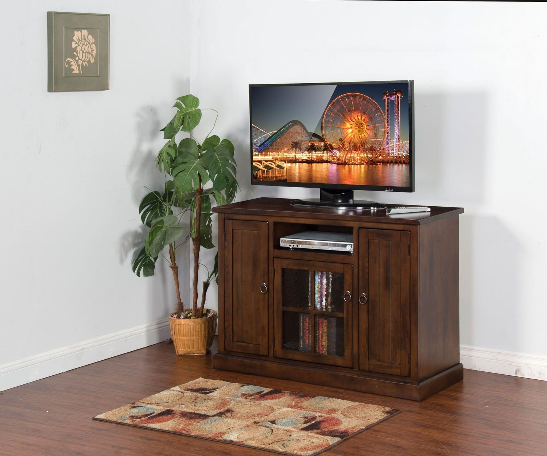 "Royston 48"" TV Stand - Dark Chocolate"