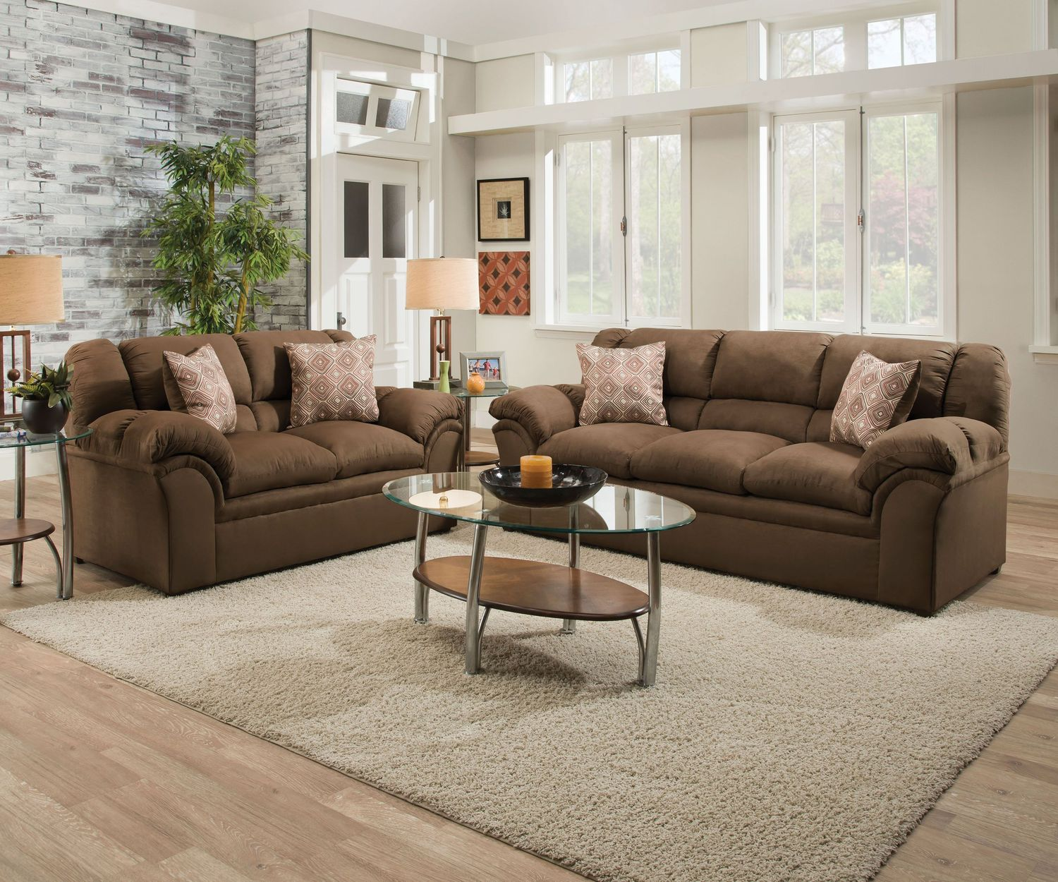 New Haven Sofa - Chocolate