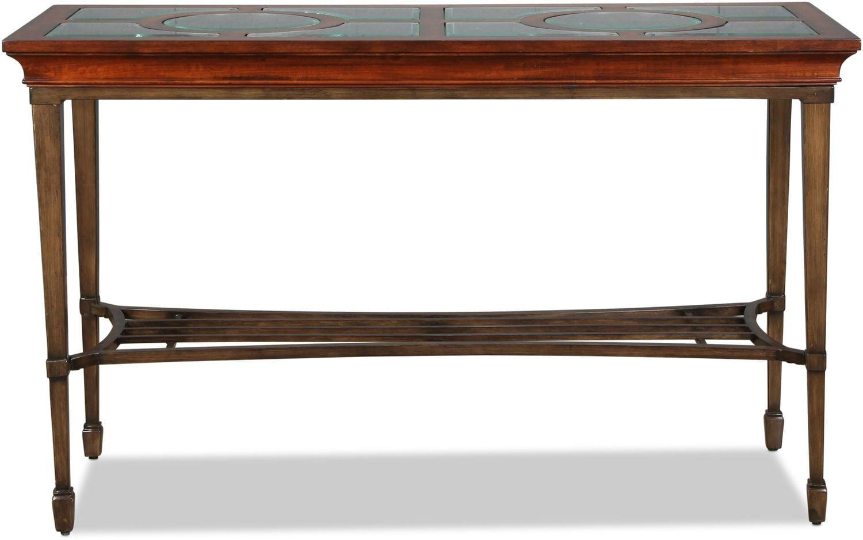 Rivergrove Sofa Table - Burnished Cherry