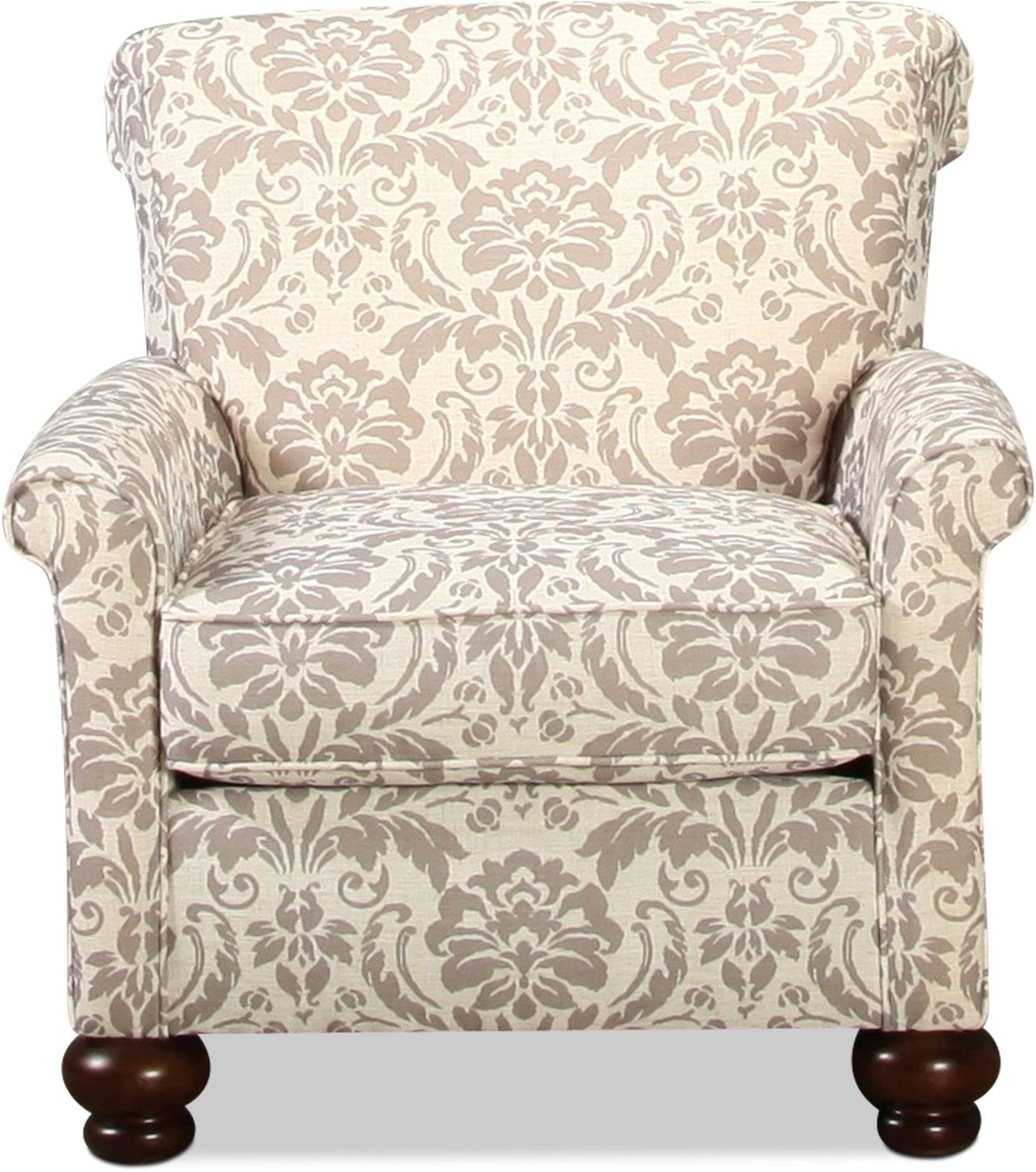 Living Room Furniture - Islip Accent Chair - Floral