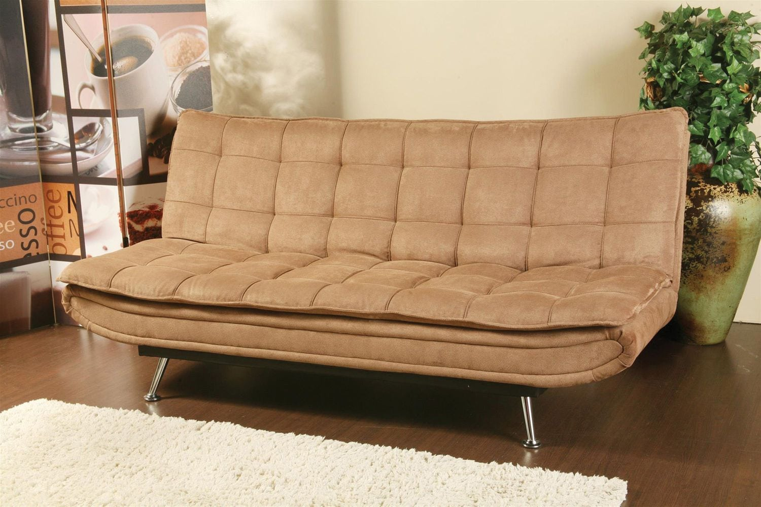 Shannon Convertible Sofa - Tan
