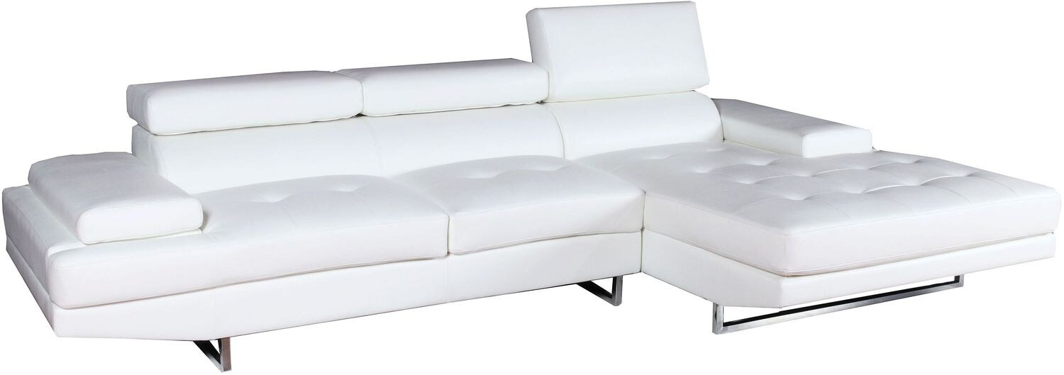 Captiva Sofa Chaise - Eggshell
