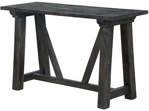 Bridgewater Sofa Table - Charcoal