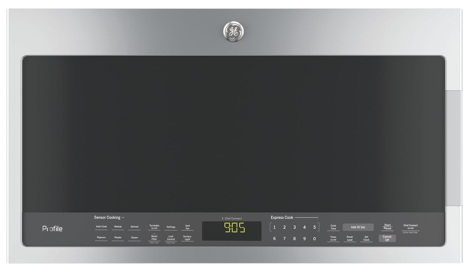 GE 2.1 Cu. Ft. Over-the-Range Microwave – PVM2188SJC