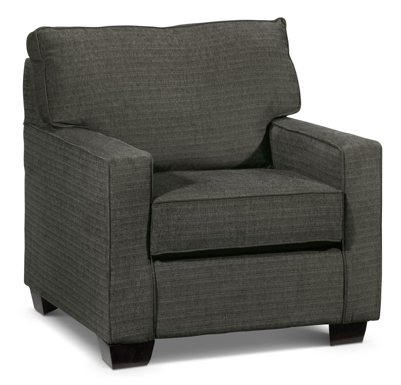 Leon S Furniture Sectional Sofas: Perkin Sofa - Graphite