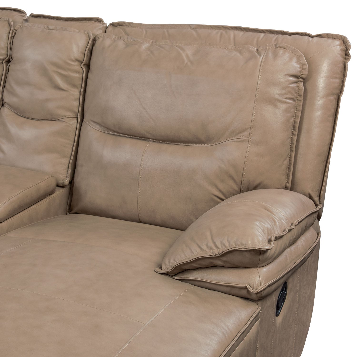 Nikki 6 Piece Power Reclining Sectional With 2 Recliners