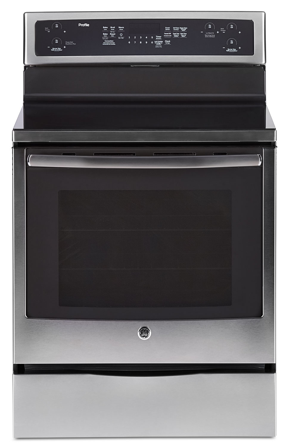 Cooking Products - GE 6.2 Cu. Ft. Freestanding Electric Range – PCB915SKSS