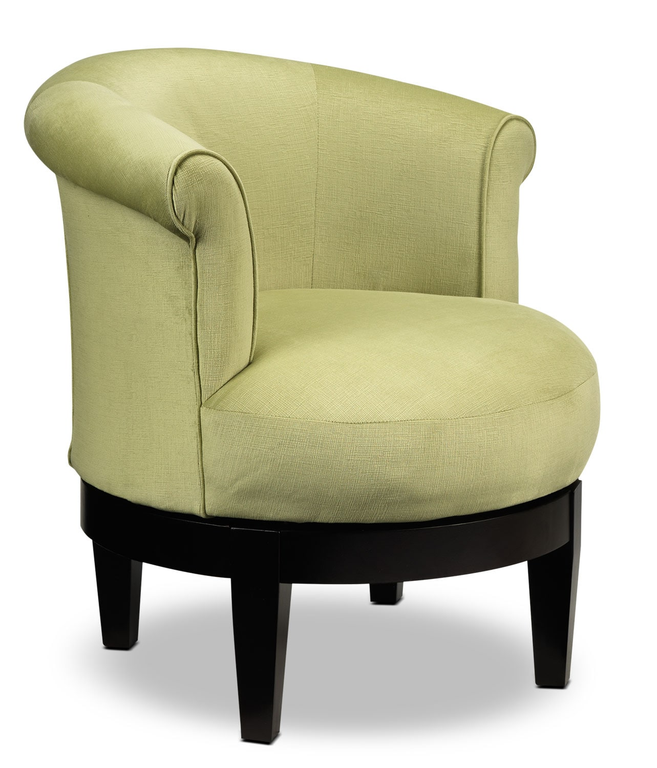 Living Room Furniture - Attica Accent Swivel Chair - Lime