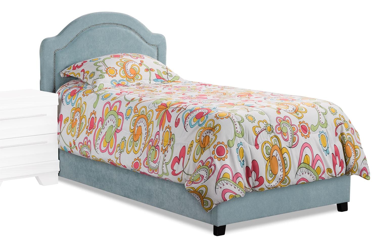 Kids Furniture - Madeline Twin Bed – Blue