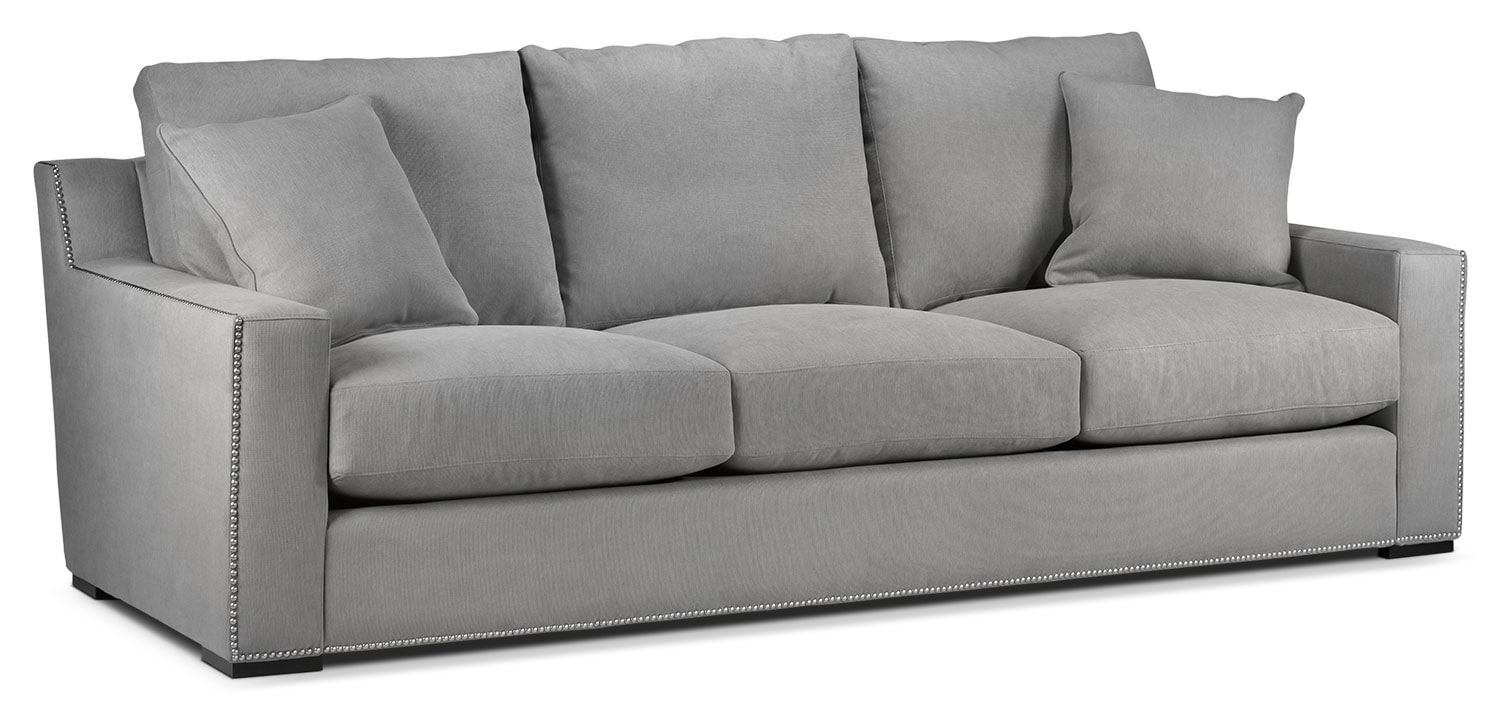 Living Room Furniture - Ethan Sofa - Graphite